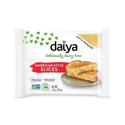 Daiya Dairy-Free Sliced American Style Cheese - 7.8oz
