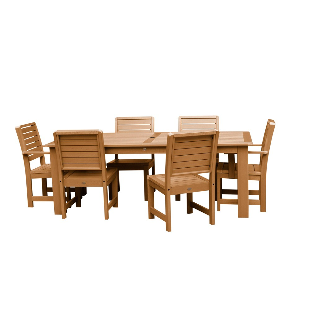 Weatherly 7pc Rectangular Dining Set 72