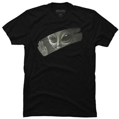 Alien Mens Graphic T-Shirt - Design By Humans