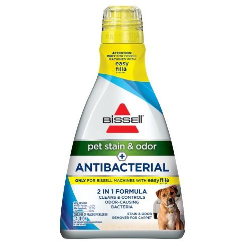 Bissell Pet Stain Odor Antibacterial Carpet Formula 1567a