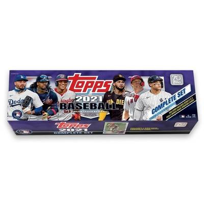 2021 Topps MLB Baseball Trading Card Complete Set