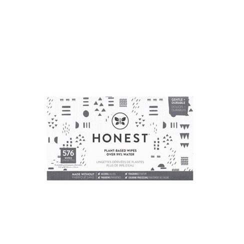 The Honest Company Pattern Play Baby Wipes - 576ct - image 1 of 4
