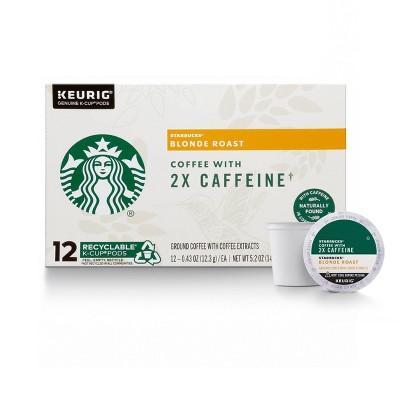Starbucks KCup Cafe Blonde Light Roast 12ct - 5.2oz