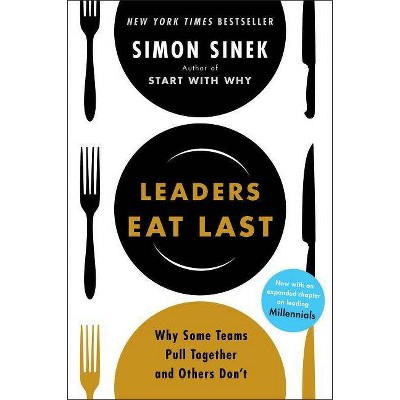 Leaders Eat Last - by  Simon Sinek (Hardcover)
