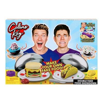Collins Key Double Fake Food Showdown