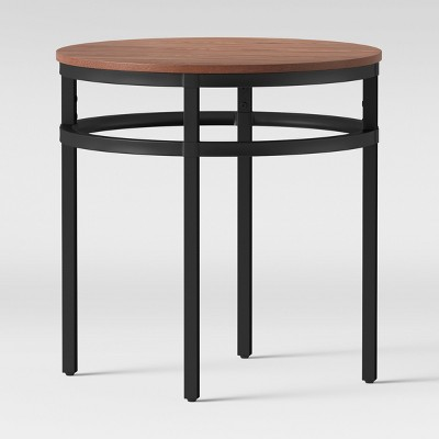 Ellsworth Wood/Metal Accent Table - Threshold™