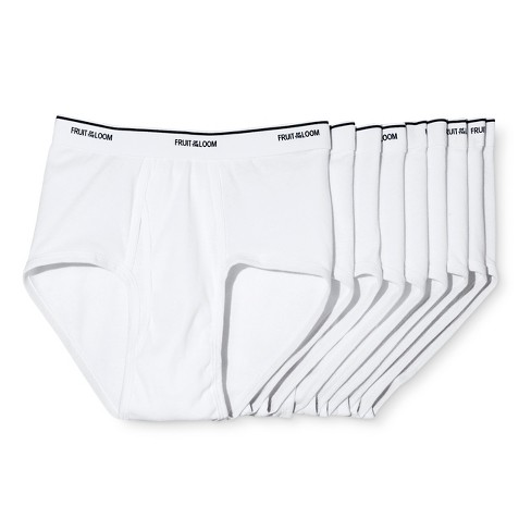 80819cb8f4 Fruit Of The Loom® Men s Classic Briefs - White   Target