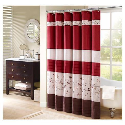 Monroe Polyester Shower Curtain