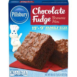 Pillsbury Chocolate Fudge Brownie Mix - 18.4oz