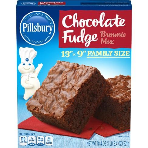 Pillsbury Chocolate Fudge Brownie Mix - 18.4oz - image 1 of 4