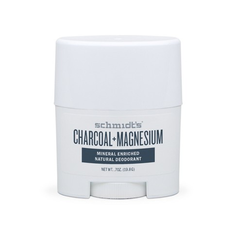 Schmidt's Charcoal + Magnesium Mineral Enriched Natural Deodorant - 0.7oz - image 1 of 4