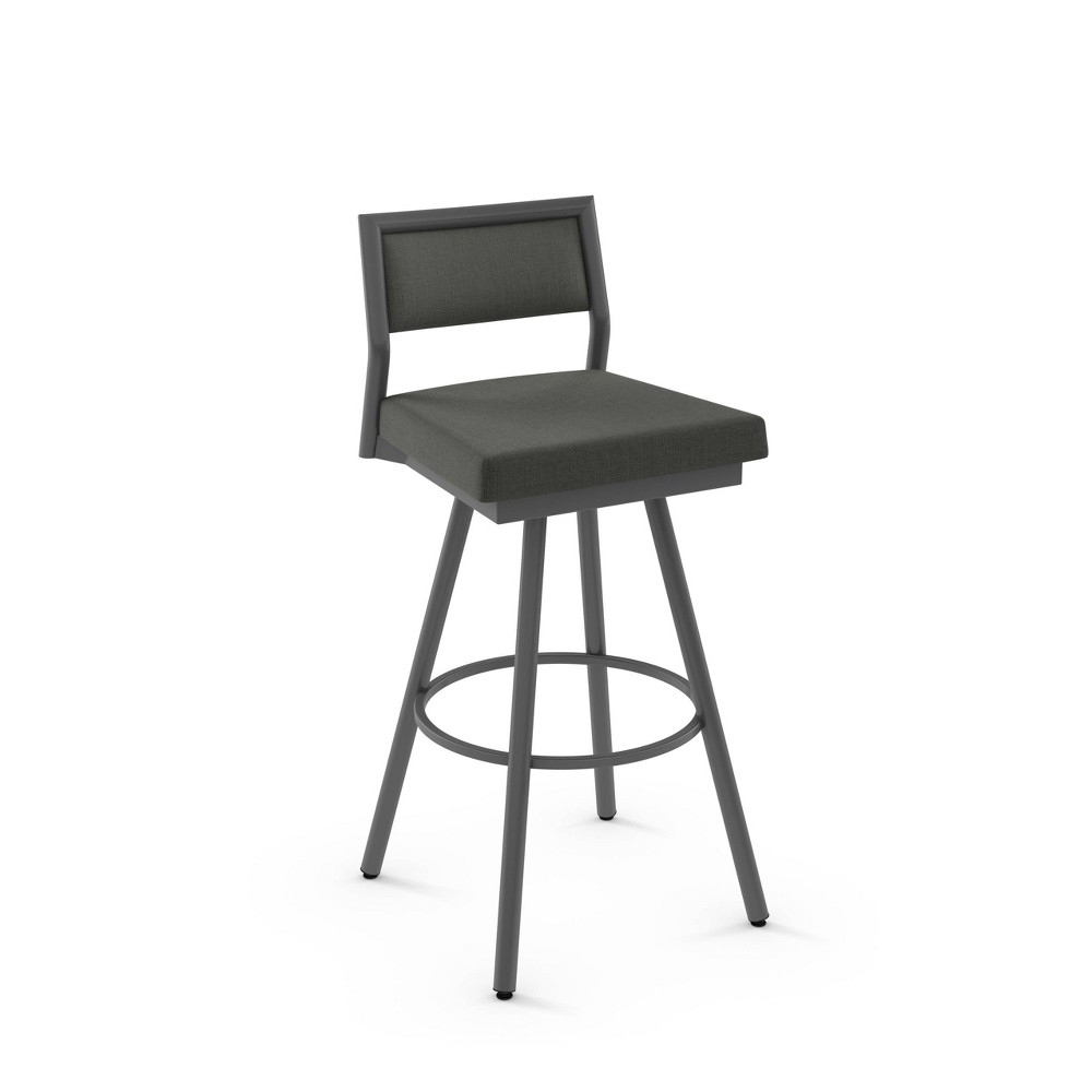 27 Jacob Counter Height Barstool Gray - Amisco Best