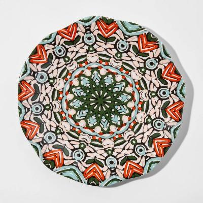 10.5  Melamine Medallion Dinner Plate - Opalhouse™
