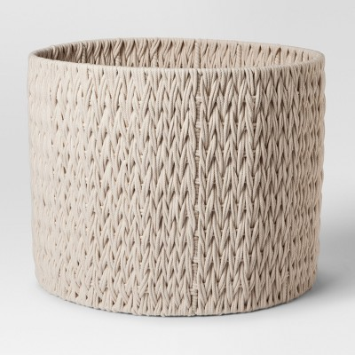 Round Woven Basket Extra Large - Cream - Project 62™