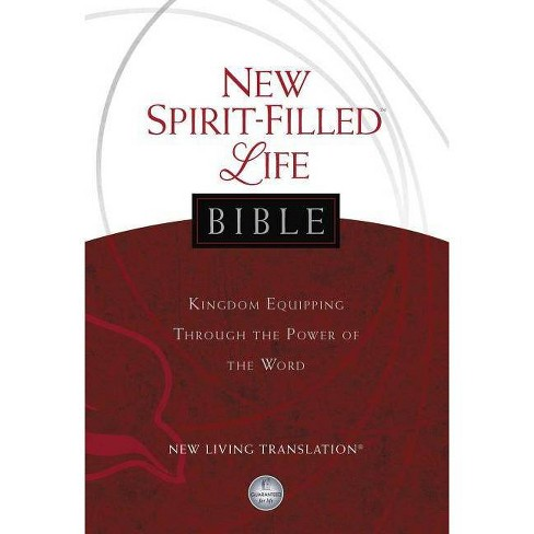 New Spirit-Filled Life Bible-NLT - 2 Edition by  Thomas Nelson (Hardcover) - image 1 of 1