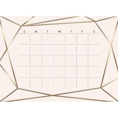 Blush Beauty Dry Erase Calendar Peel and Stick Giant Wall Decal - RoomMates