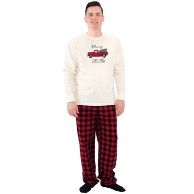 Touched by Nature Mens Unisex Holiday Pajamas, Christmas Tree