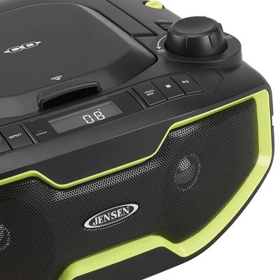+ 2 more JENSEN® Portable Stereo MP3 CD Player With PLL AM/FM Radio - Black