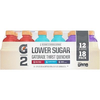 Gatorade G2 Low Calorie Mixed Flavors Sports Drink - 18pk/12 fl oz Bottles