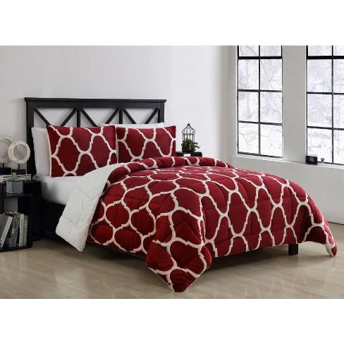VCNY Home James Geometric Print Reversible Comforter Set - image 1 of 1