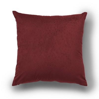 "2pk 18""x18"" Dot Velvet Decorative Throw Pillow - SureFit"