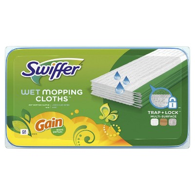 Swiffer Sweeper Wet Mopping Cloths with Gain Scent - 24ct