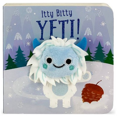 Itty Bitty Yeti - (Finger Puppet Board Book)by Brick Puffinton (Board Book)