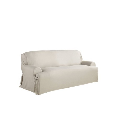Relaxed Fit Parchment Duck Sofa T