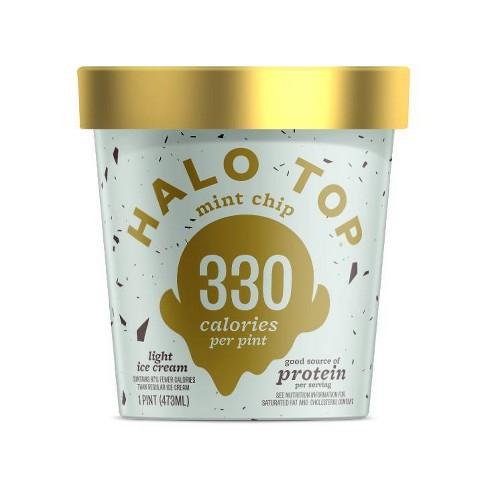 Halo Top Mint Chip Ice Cream - 16oz - image 1 of 3
