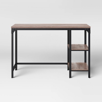 Jackman Wood Writing Desk with Storage - Threshold™