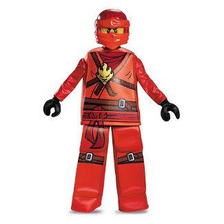 Boys' Ninjago Kai Prestige Halloween Costume L