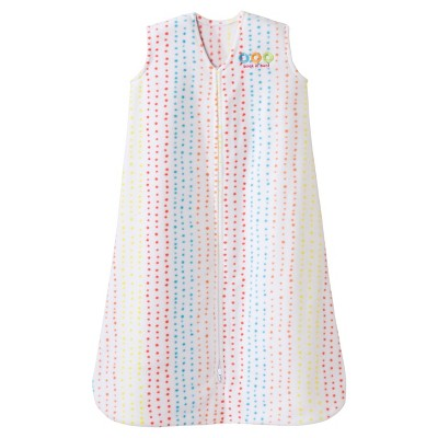 Halo® Sleepsack® Micro-Fleece Swaddle - Multi Dot - Medium