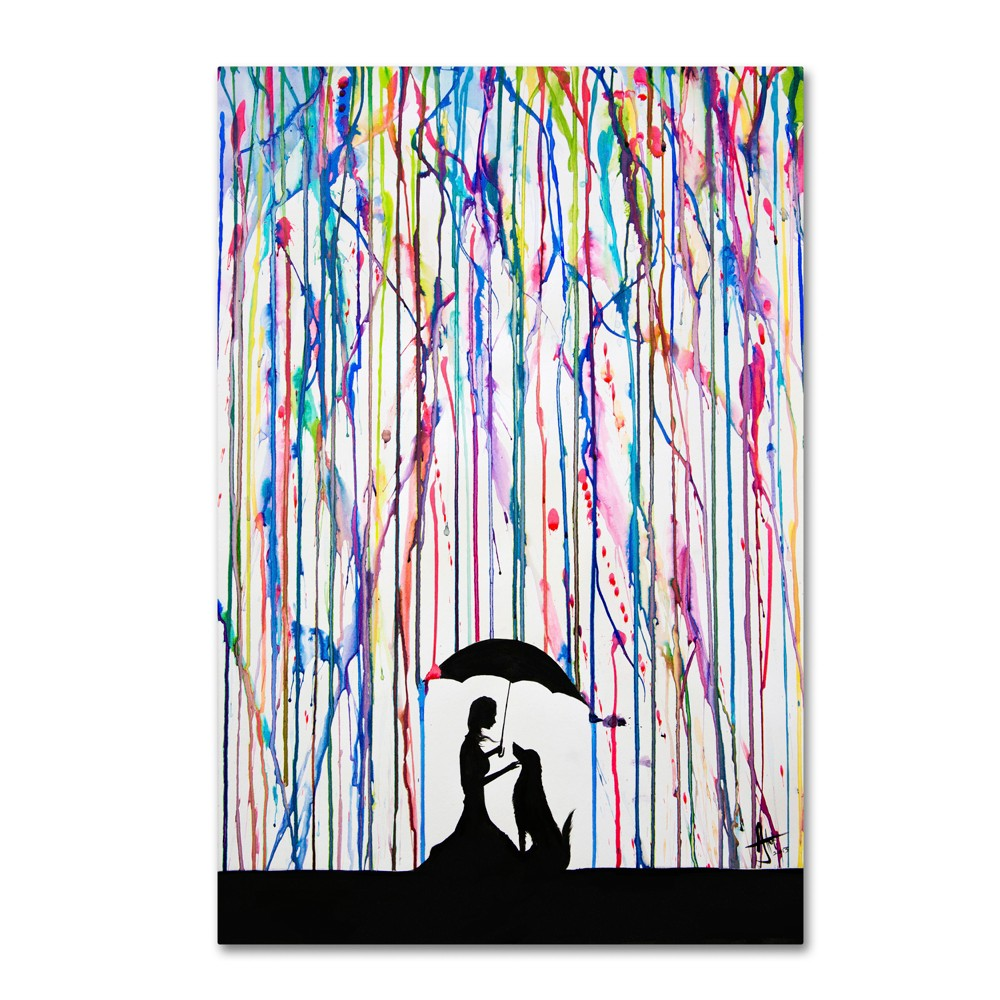 'Sempre' by Marc Allante Ready to Hang Canvas Wall Art (16