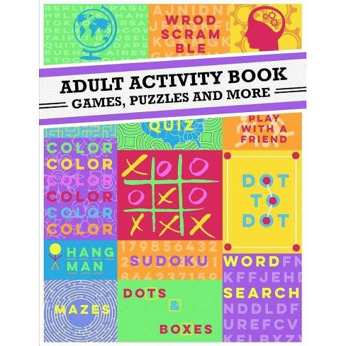 Adult Activity Book - (Paperback) - image 1 of 1