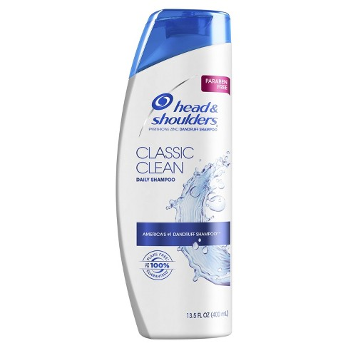 Head and Shoulders Classic Clean Daily-Use Anti-Dandruff Paraben Free Shampoo - 13.5 fl oz - image 1 of 3