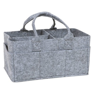 Trend Lab Diaper Caddy - Solid Gray