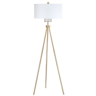 Enrica 66  H Floor Lamp Gold (Includes Energy Efficient Light Bulb)- Safavieh