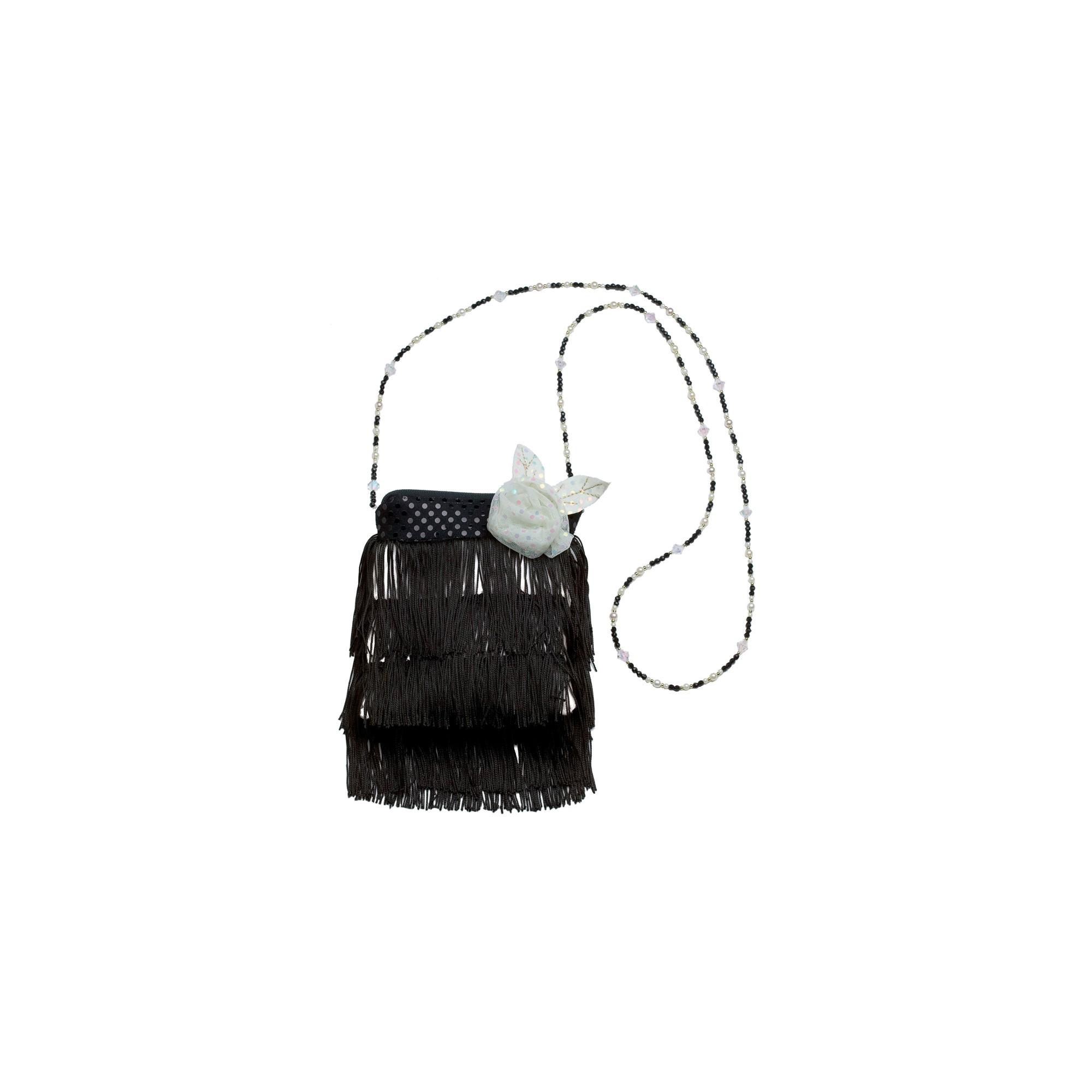 Flapper Handbag Black, Women's