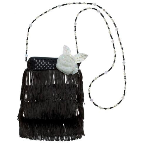 Flapper Handbag Black - image 1 of 1