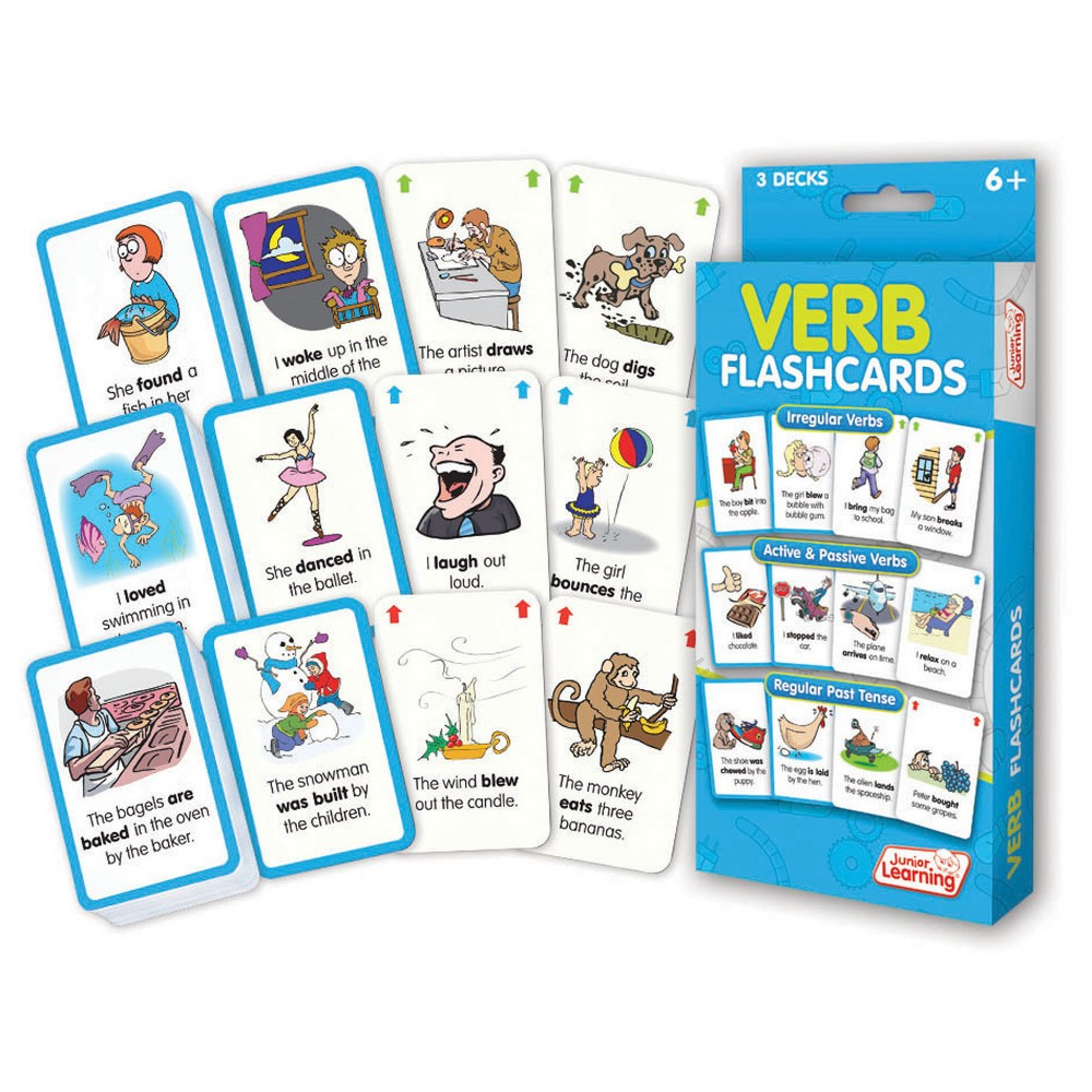Image of Junior Learning Verb Flashcards