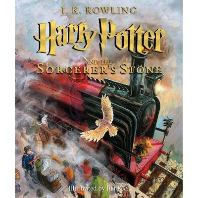 Harry Potter and the Sorcerer's Stone: The Illustrated Edition (Harry Potter Series #1)(Hardcover) by J. K. Rowling