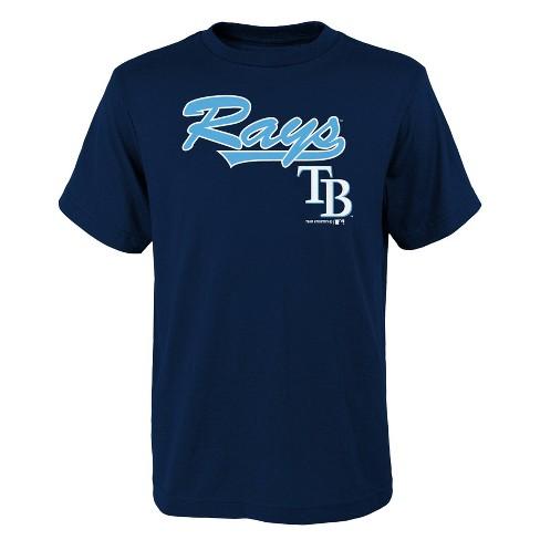 sale retailer ab448 b9202 MLB Tampa Bay Rays Youth Name & Number T-Shirt