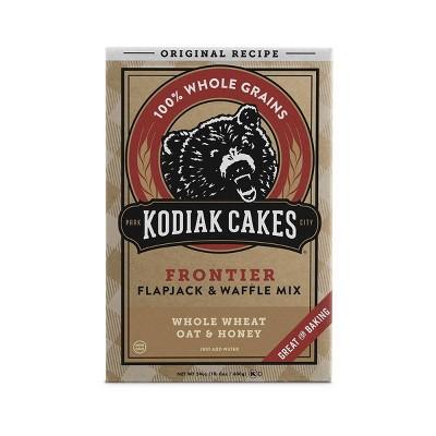 Kodiak Cakes Whole Wheat, Oat & Honey Flapjack & Waffle Mix - 24oz