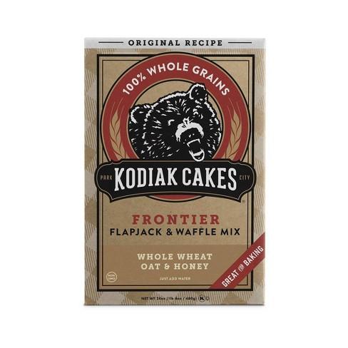 Kodiak Cakes Whole Wheat, Oat & Honey Flapjack & Waffle Mix - 24oz - image 1 of 4