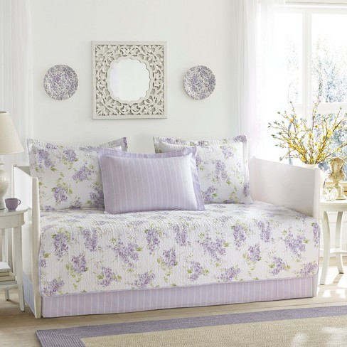 Purple Keighley Daybed Set - Laura Ashley - image 1 of 3