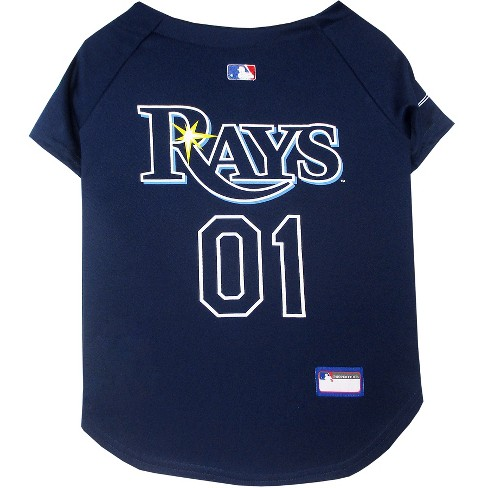 huge selection of 3ada5 a0bfb MLB Pets First Pet Baseball Jersey - Tampa Bay Rays