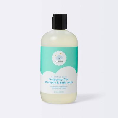 Baby Wash & Shampoo - Cloud Island™ Fragrance Free - 12 fl oz