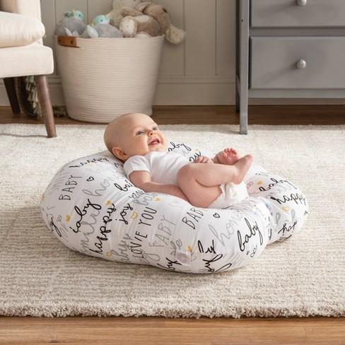 801bfefc1 Boppy Newborn Lounger, Hello Baby - White