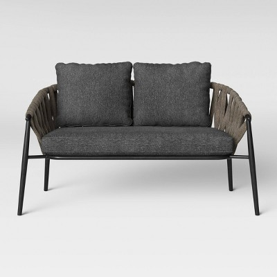 Attrayant Casson Patio Loveseat   Gray   Project 62™