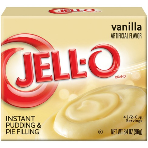 Jell-O Instant Vanilla Pudding & Pie Filling - 3.4oz - image 1 of 2